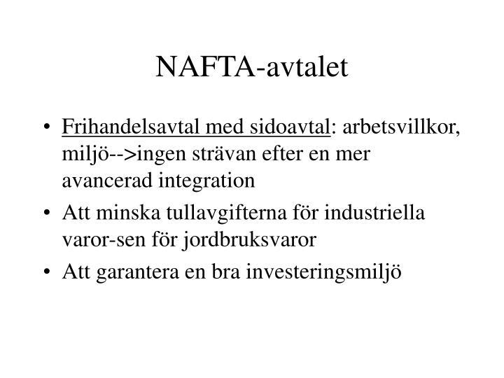 NAFTA-avtalet