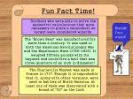 fun fact time