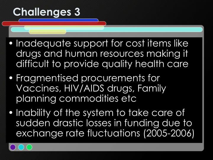 Challenges 3