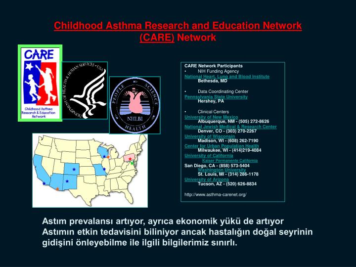 Childhood Asthma Research and Education Network