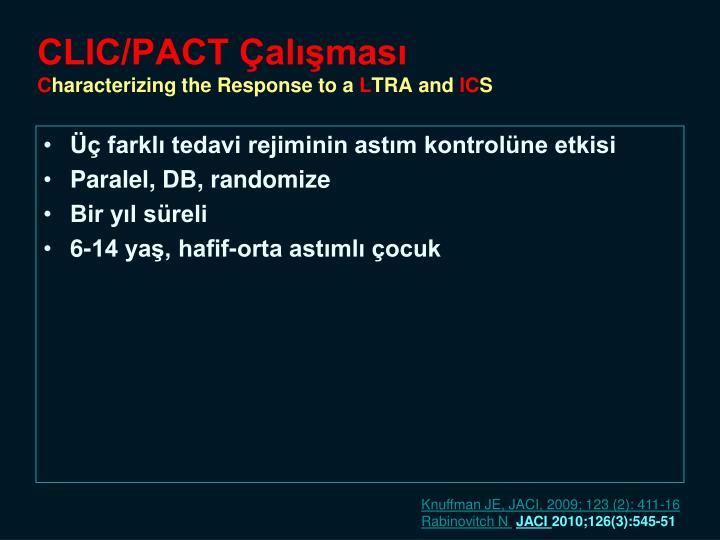 CLIC/PACT Çalışması