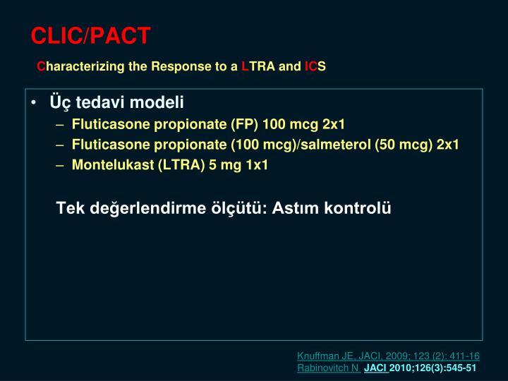 CLIC/PACT