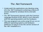the net framework