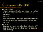 becta s role in the ngfl