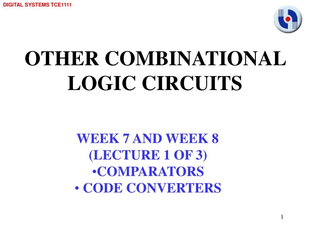 Ppt Other Combinational Logic Circuits Powerpoint Presentation Binary To Bcd Converter Pictures Slide1 N