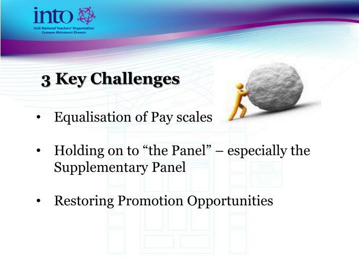 3 Key Challenges