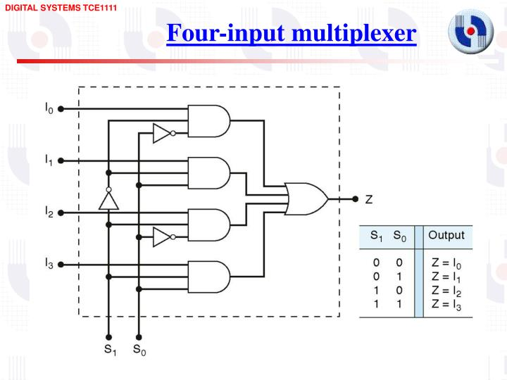 Four-input multiplexer