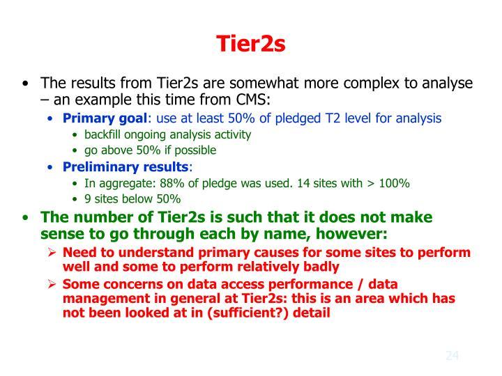 Tier2s