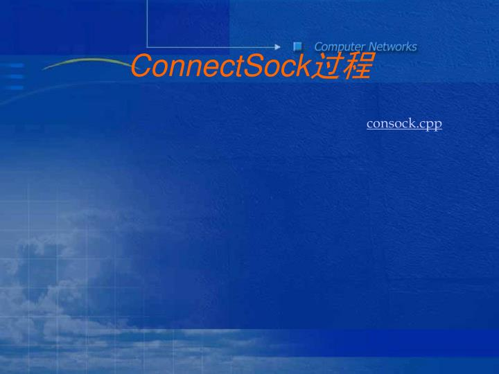 ConnectSock