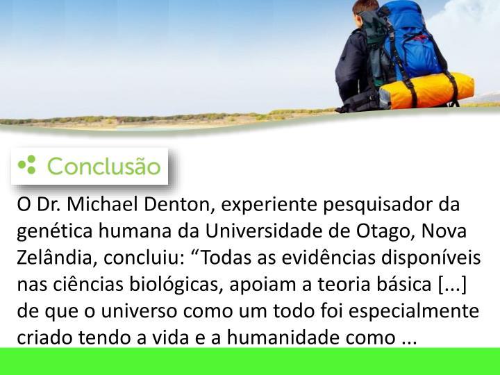 O Dr. Michael