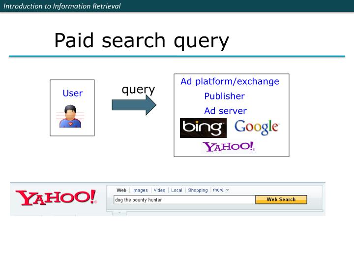 Paid search query