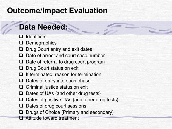 Data Needed: