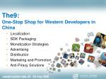 the9 one stop shop for western developers in china