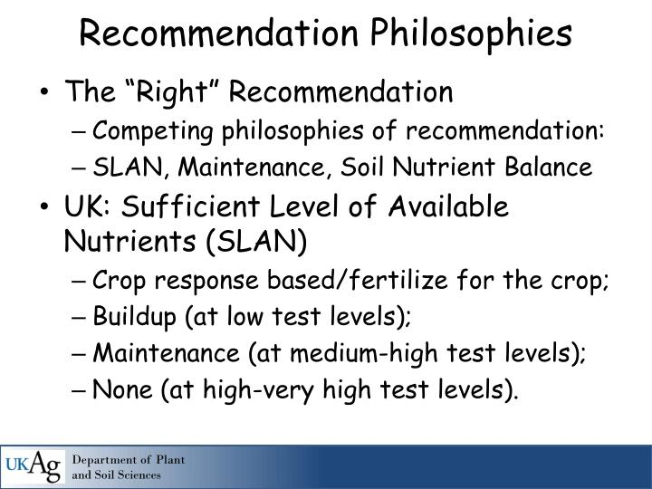 """The """"Right"""" Recommendation"""