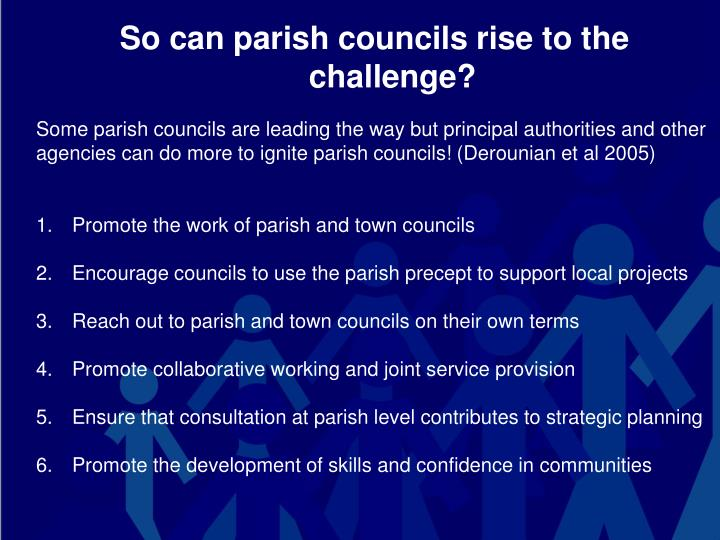 So can parish councils rise to the challenge?