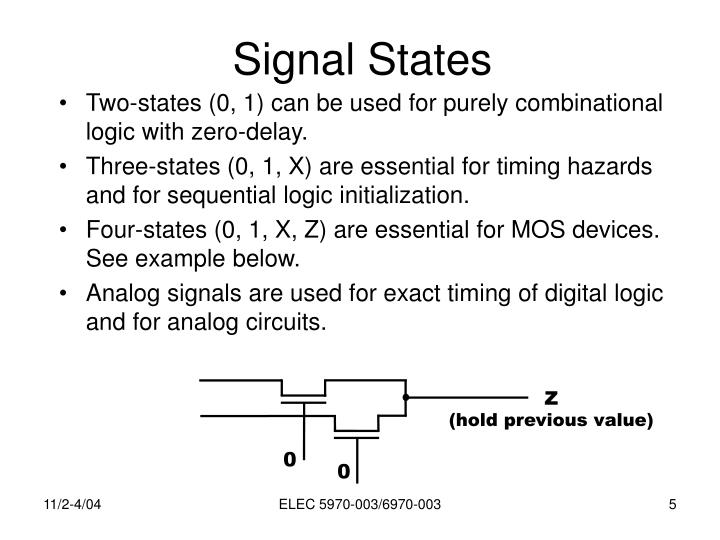 Signal States