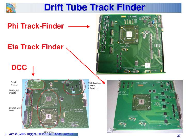 Drift Tube Track Finder
