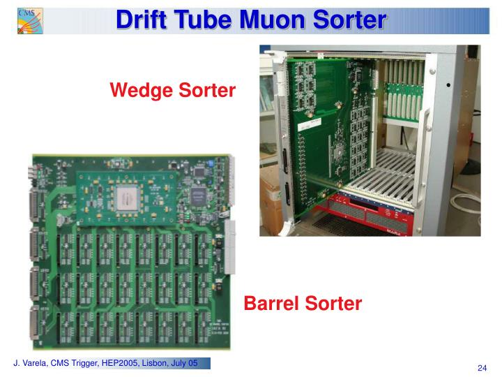 Drift Tube Muon Sorter