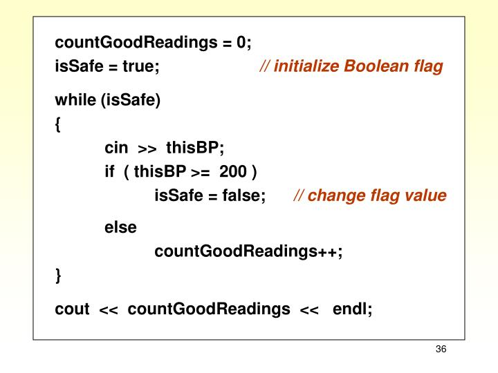countGoodReadings = 0;