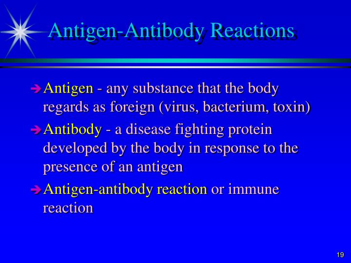 Antigen-Antibody Reactions