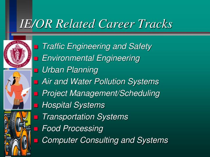 IE/OR Related Career Tracks
