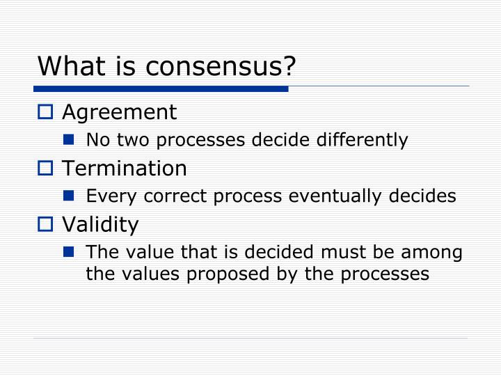 Ppt Bringing Paxos Consensus In Multi Agent Systems Powerpoint