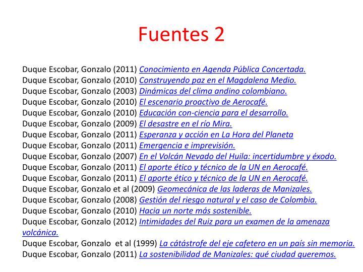 Fuentes 2