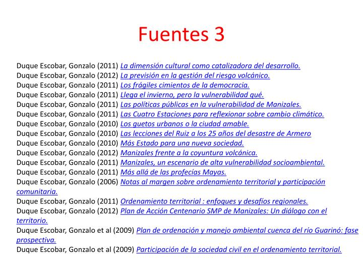 Fuentes 3