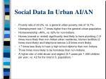 social data in urban ai an