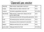 operatii pe vector1