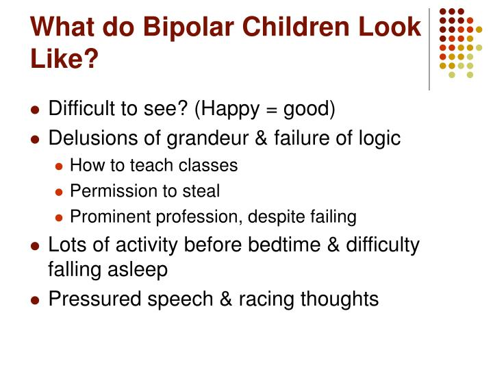 What do Bipolar Children Look Like?