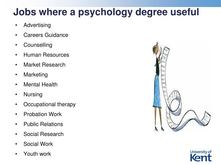 Jobs where a psychology degree useful