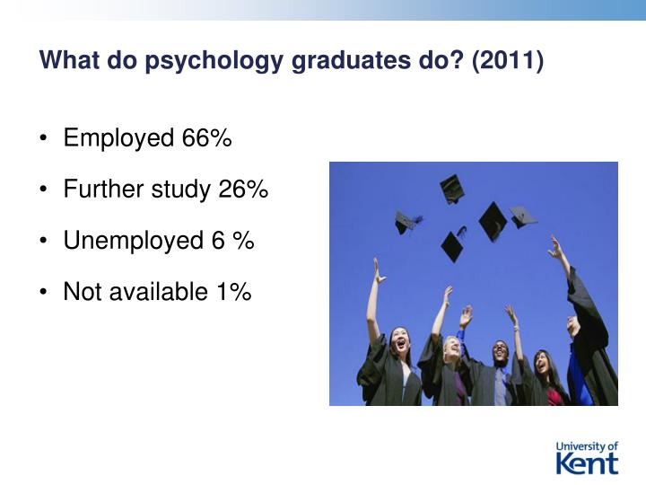 What do psychology graduates do? (2011)