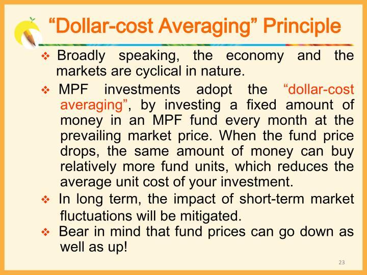 """Dollar-cost Averaging"" Principle"