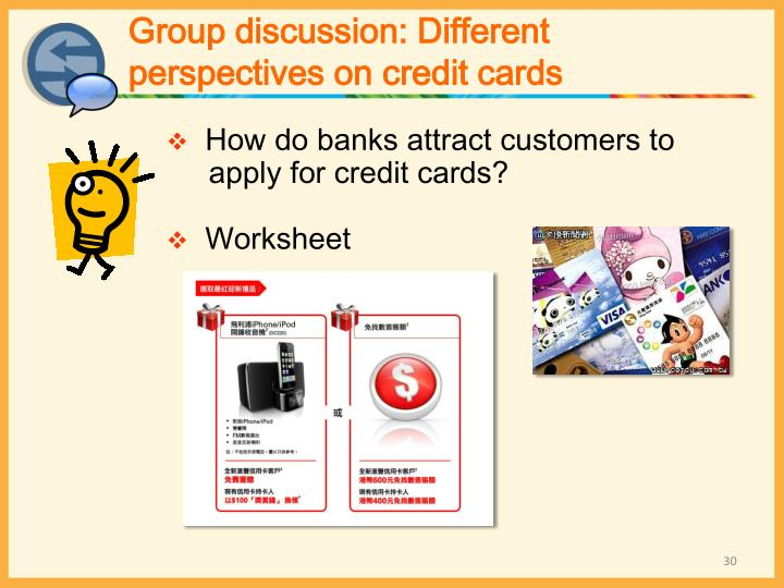 Group discussion: Different