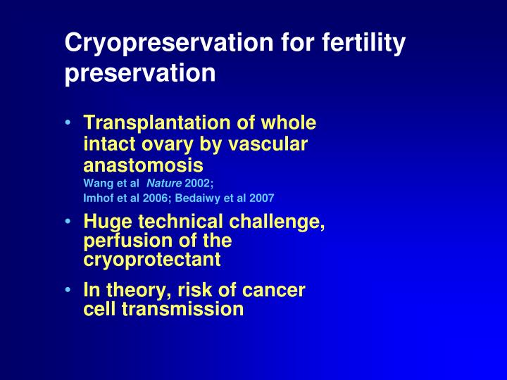 Transplantation of whole intact ovary by vascular