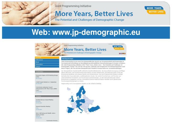 Web: www.jp-demographic.eu