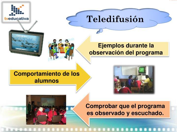 Teledifusión