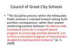 council of great city schools