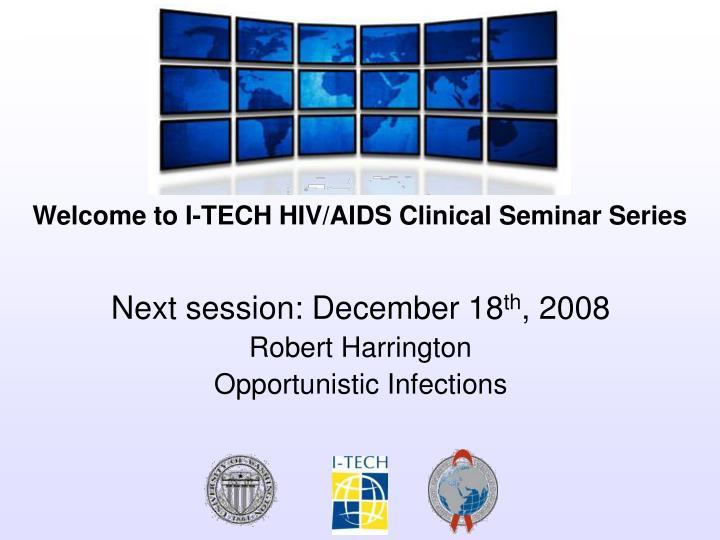 Next session: December 18