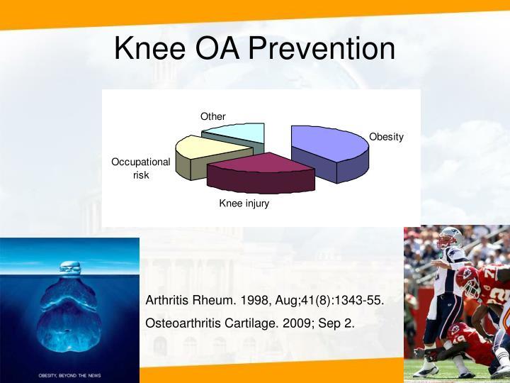 Knee OA Prevention
