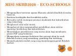 misi skbb2020 eco schools