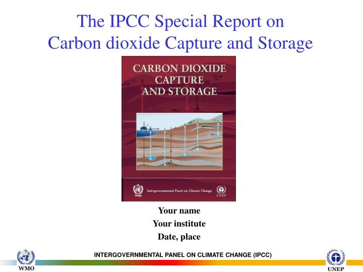 the role of ipcc in climate The intergovernmental panel on climate change (ipcc) is a united nations body, founded in 1988, which evaluates climate change science the ipcc assesses research on climate change and.