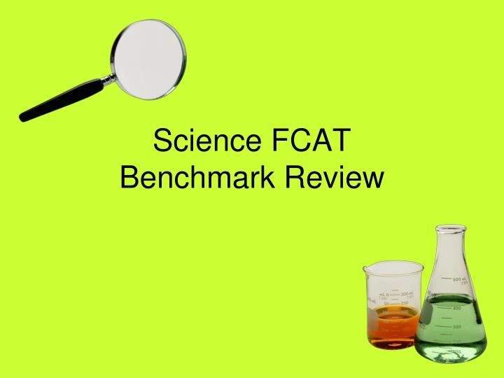science fcat benchmark review n.