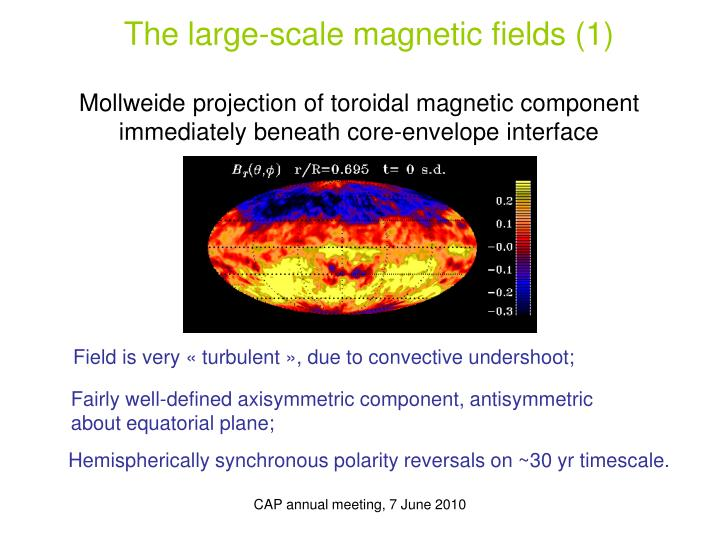 The large-scale magnetic fields (1)