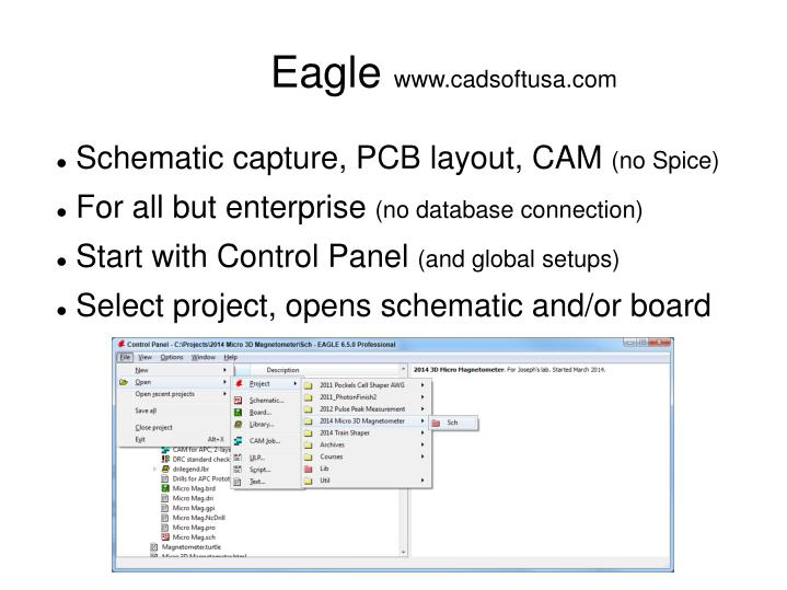 PPT - From Sketch to Finished PCB Using Eagle to make a schematic ...