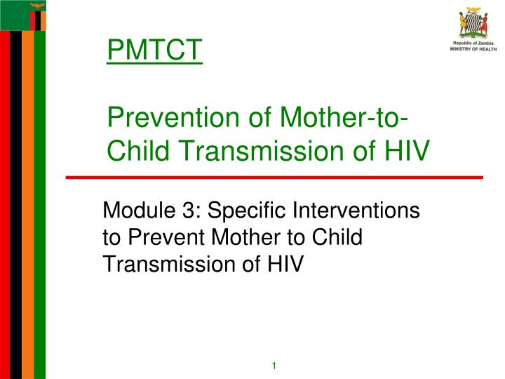 pmtct prevention of mother to child transmission of hiv n.