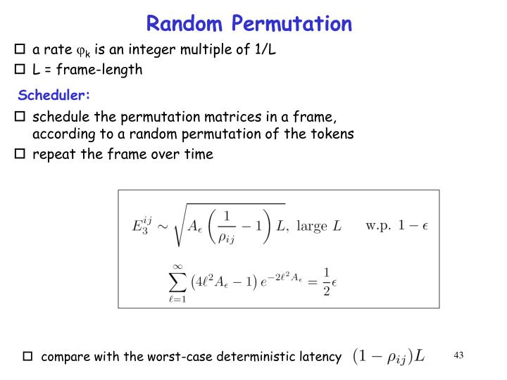 Random Permutation