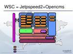 wsc jetpspeed2 opencms
