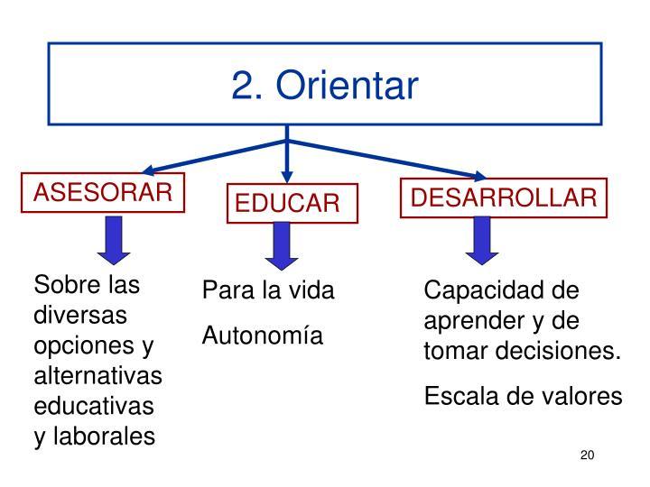 2. Orientar